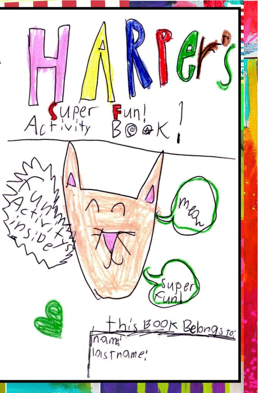 Harpers Fun Activity Book Front Cover
